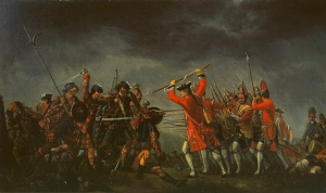 The Battle of Culloden - David Morier, oil on canvas